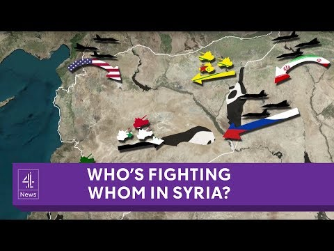 Syria: who is fighting whom? [Updated, 2018 version]