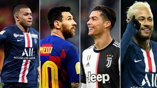 Ronaldo lalala VS Messi Old Town Road VS Neymar Dance Monkey VS Mbappe Señorita