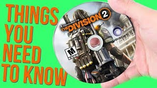 Division 2: 10 Things You NEED TO KNOW