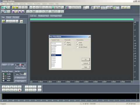 How to Record Vocal in Adobe Audition