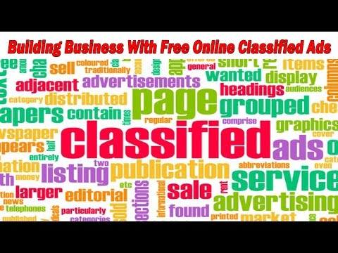 Building Business With Free Online Classified Ads