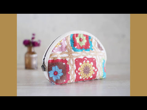 Shine Sewing Tutorial Half Circle Zip Pouch