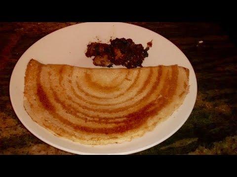 Instant  Crispy Urad dal Sooji dosa or Semolina Dosa Recipe/ No ferment