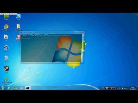 How to: Set a shutdown timer on windows 7