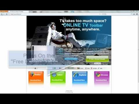 How to Download our Toolbar with Firefox - http://www.tvhod.com
