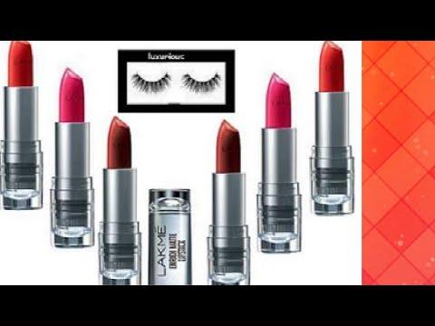 Lakme Enrich Satin Lipstick REVIEW in Hindi/ लक्मे लिपस्ट review