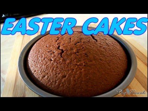 Chocolate Easter Cakes Recipe