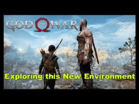 Exploring this new Environment GOD of WAR