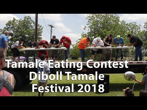 Tamale Eating Contest Diboll Tamale Festival 2018