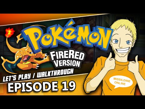 POKEMON TOWER -- Let's Find a Ghost | Pokemon FireRed Walkthrough | Episode 19