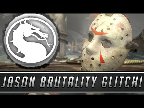 Mortal Kombat X: Jason Voorhees Survives Brutalities! - Secret Brutality Glitch! (Mortal Kombat 10)