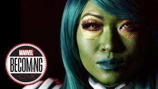 Cosplayer Yaya Han Becomes Gamora – Marvel Becoming