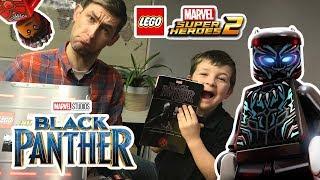 Lego Marvel Super Heroes 2 - Black Panther DLC Surprise Box & Trailer