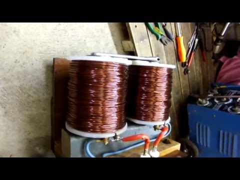 Welder modification to increase amps for a Magneto Recharger