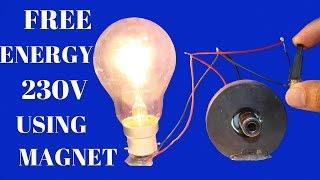 Free Energy Light Bulbs 230v For Life Time - Using magnet -  Free Energy Light Bulbs Using magnet