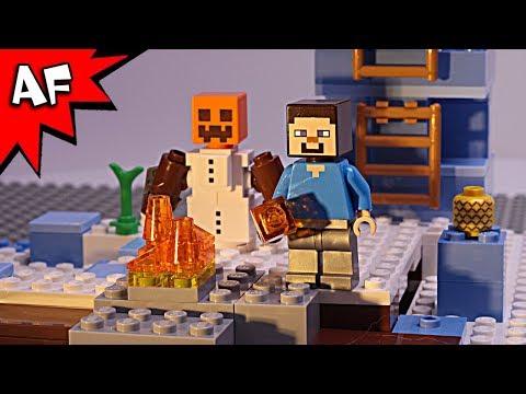 Lego Minecraft SNOW GOLEM STORY