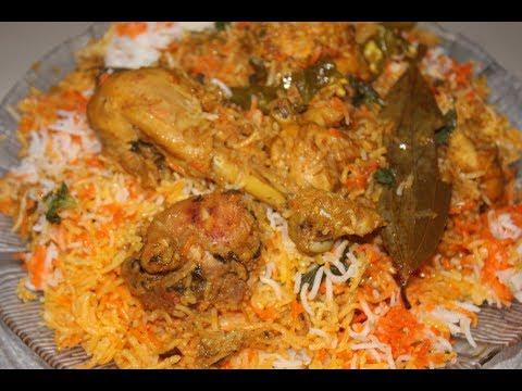 How To Make Hyderabadi Chicken Dum BIryani at Home in Hindi