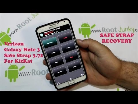 Samsung Galaxy Note 3 Kitkat Safe Strap Recovery Install