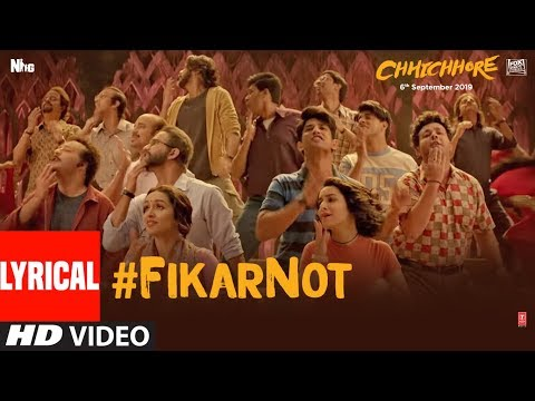 Xxx Mp4 LYRICAL Fikar Not Video Chhichhore Nitesh Tiwari Sushant Shraddha Pritam Amitabh Bhattacharya 3gp Sex