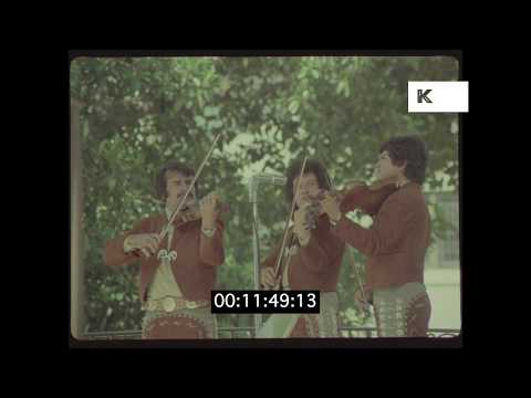 1970s Los Angeles, Mariachi Band in HD from 35mm | Kinolibrary