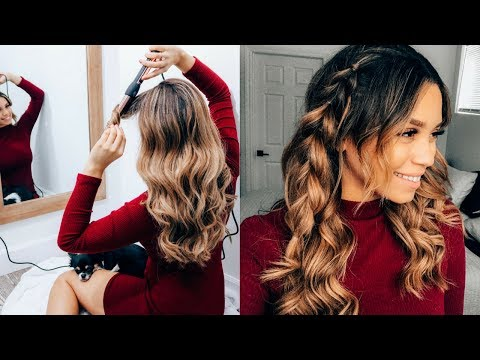 Quick and EasyValentine'sDay Hair Tutorial ft NuMe | Ashley Bloomfield
