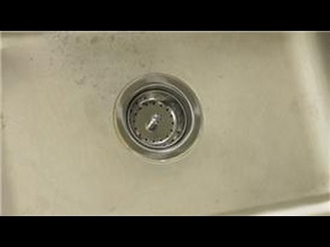 Sink Maintenance : How to Repair a Drain on a Utility Laundry Sink