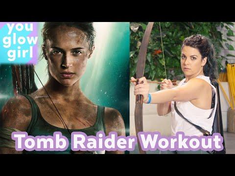 I Trained Like the Tomb Raider | You Glow Girl
