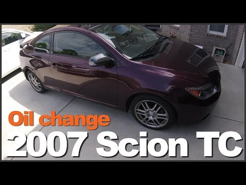 How to Change Oil 2007 Scion TC