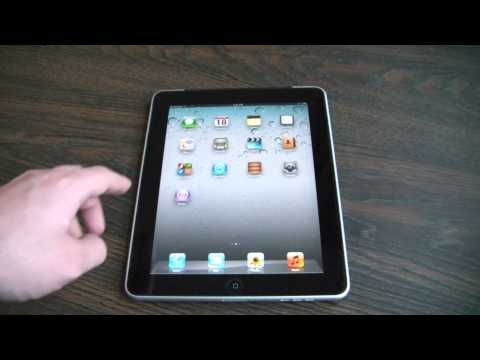 How To Move icons Around On An iPad