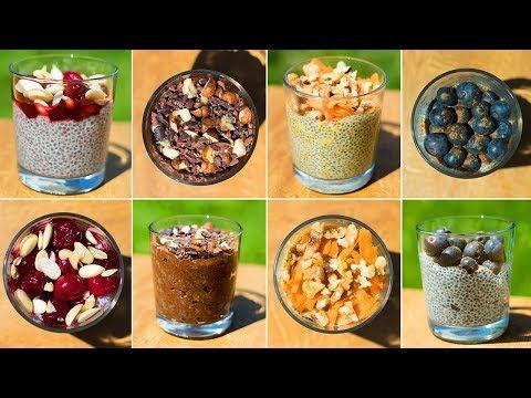 How to Make Overnight Chia Pudding 4 Ways