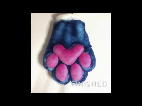 Puffy Paw Tutorial