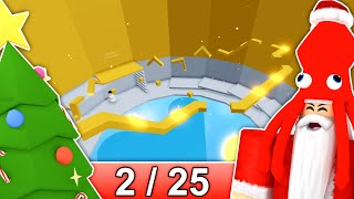 [2/25] CHRISTMAS STAGES in Tower of Hell... | Roblox
