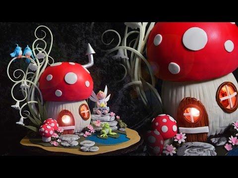 3D Toadstool Cake Tutorial - Sample