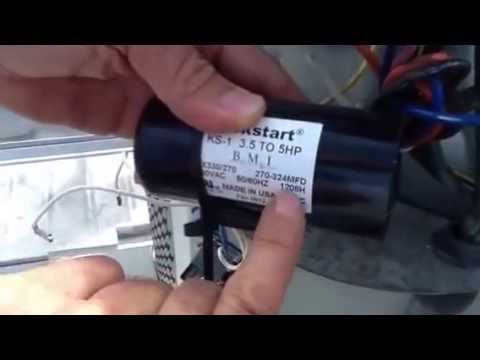 How to read a Hard Start Capacitor