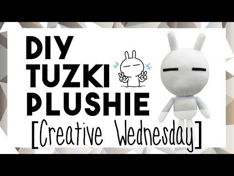 DIY TUZKI PLUSHIE! (FREE TEMPLATE) [CREATIVE WEDNESDAY]
