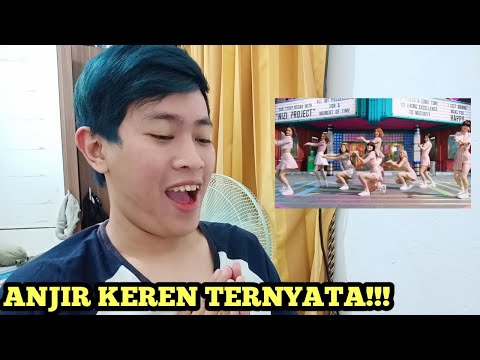 NiziU - MAKE U HAPPY MV REACTION INDONESIA