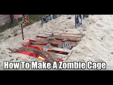 Zombie Party Ideas for a Halloween Zombie Party, Walking Dead Party Ideas, Halloween Props Homemade