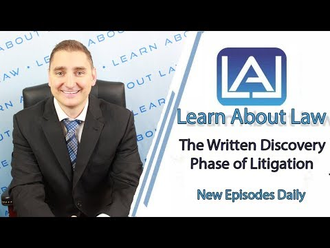 The Written Discovery Phase of Litigation Explained | Illinois Civil Litigation