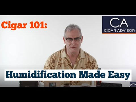 Humidification for your Cigar Humidor - Cigar 101