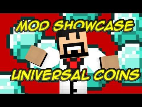 Minecraft Mod Showcase - Universal Coins