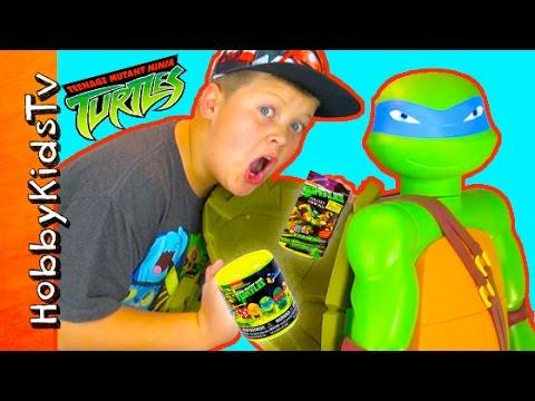 Ninja Turtle  Shell Surprise Egg by HobbyKidsTV