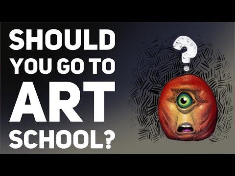 Should you go to art school?
