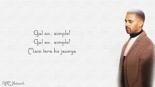 So Simple Lyrics - Jaz Dhami - Bambi Bains - Snappy - Rav Hanjra