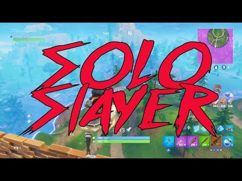 FORTNITE | Solo Slaying 100 Wins (Commentary)
