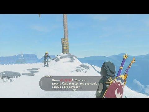 The Legend of Zelda: Breath of the Wild -  Kite Shield Surfing