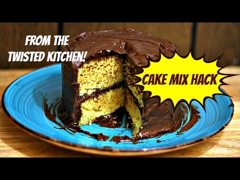 How to make chocolate cake taste homemade