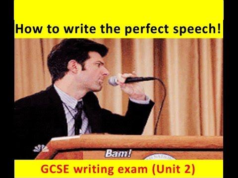 9-1 GCSE English Language: SPEECH Writing (NEW and UPDATED 2017!)