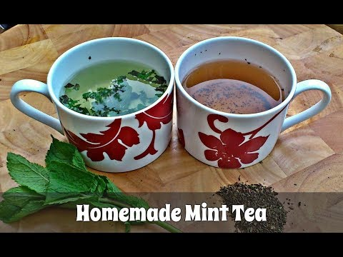 How to Make Mint Tea Using Fresh OR Dried Mint Leaves (Slideshow)