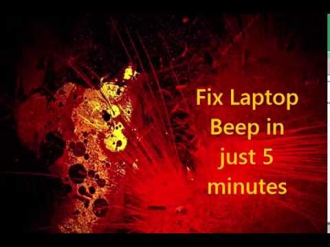 How to Fix Laptop Beep Problem and Keyboard Stuck Keys [Very Easy]