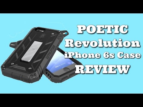 Poetic Revolution Rugged Protective Iphone 6S Case Review